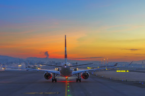 обои для рабочего стола 2048x1365 авиация, пассажирские самолёты, авиалайнер
