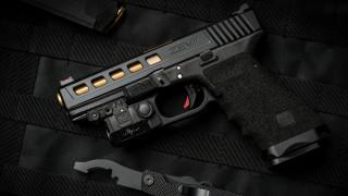 пистолет, оружие, Glock, Глок, pistol, gun, кастом, weapon, ZEV custom
