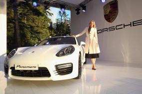 автомобили, -авто с девушками, машина, теннисистка, мария, шарапова, белая, пальто, спортсменка