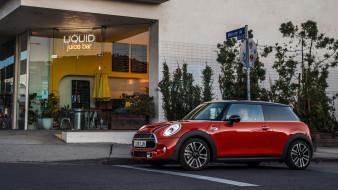 mini hardtop 2 door 2019, автомобили, mini, door, 2, hardtop, 2019, red