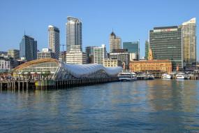 auckland harbour, города, окленд , новая зеландия, простор