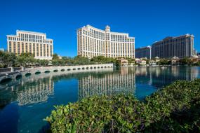 Bellagio, Las Vegas, Nevada обои для рабочего стола 2048x1367 bellagio,  las vegas,  nevada, города, лас-вегас , сша, простор