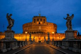 Castel Sant`Angelo in Rome обои для рабочего стола 2048x1367 castel sant`angelo in rome, города, рим,  ватикан , италия, простор