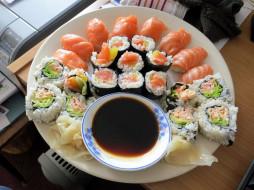 обои для рабочего стола 1920x1440 еда, рыба,  морепродукты,  суши,  роллы, ассорти, суши, роллы, японская, кухня