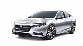 honda insight concept 2018, автомобили, honda, 2018, concept, insight