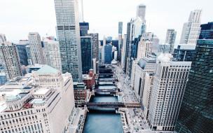 мосты, небоскребы