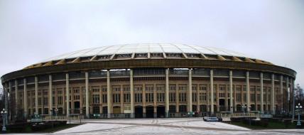 здание, стадион, Лужники