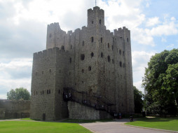 Rochester, UK, Kent, Norman Castle