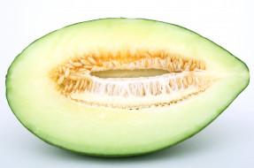 макро, дыня, плод