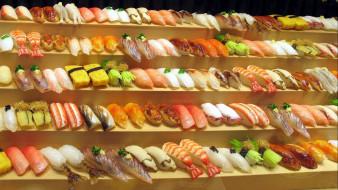 роллы, суши, ассорти, кухня, японская