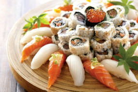 японская, суши, ассорти, роллы, кухня