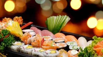 суши, роллы, ассорти, японская, кухня