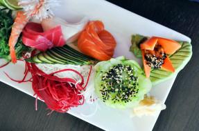 ассорти, кухня, суши, роллы, японская
