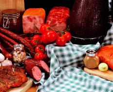 колбаса, ветчина, копчености