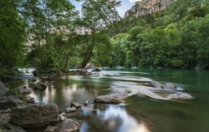 камни, река, вода