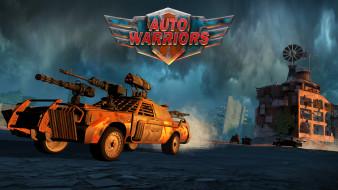 Auto Warriors, стратегия, аркада