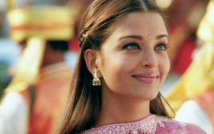 модель, лицо, улыбка, актриса, индианка, серьги