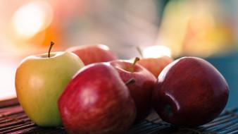 яблоки, боке