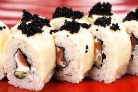 еда, рыба,  морепродукты,  суши,  роллы, японская, икра, роллы, кухня