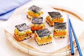 суши, японская, кухня, палочки