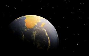 космос, земля, планета, звезды, мадагаскар, африка