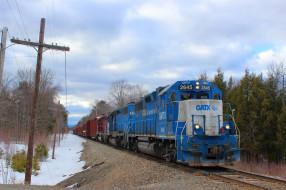 техника, поезда, состав, локомотив