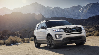 ford explorer xlt sport appearance package 2017, автомобили, ford, explorer, xlt, sport, appearance, package, 2017