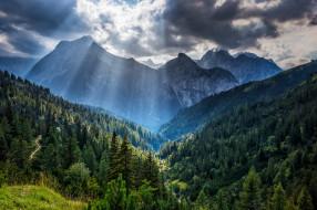 природа, горы, простор