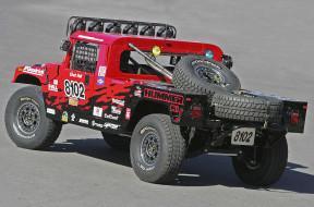 красный, Hummer, H1, Race, Alpha, Truck, 2006