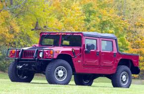 Alpha, Convertible, 2005, красный, Hummer, H1
