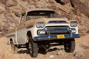 chevrolet apache 31 deluxe fleetside by napco 1959, автомобили, chevrolet, by, fleetside, deluxe, apache, 31, 1959, napco