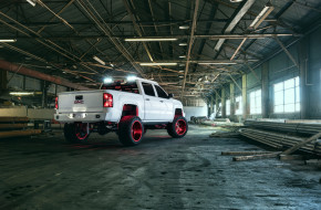 автомобили, custom pick-up, gmc