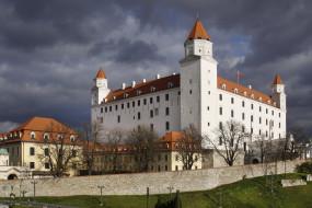 братислава, города, братислава , словакия, дворец, город