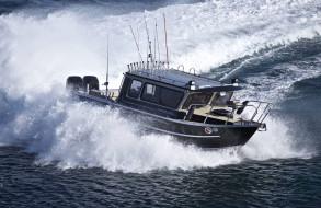 море, поворот, катер, boat, sea