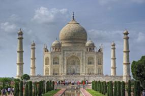 taj mahal, города, тадж-махал , индия, мавзолей, гробница