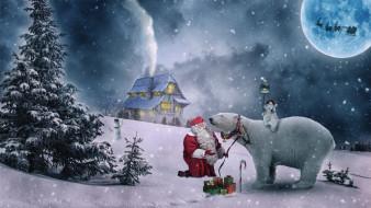 праздничные, дед мороз,  санта клаус, дед, мороз
