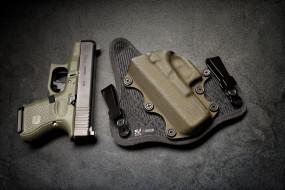 оружие, пистолеты, glock, кобура, пистолет