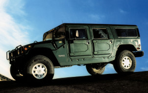 H1, Hummer, Wagon, зелёный, 1992