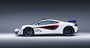 570S, McLaren, 2018, White, No8, X, GT4-MSO, Accents, Blue, Red