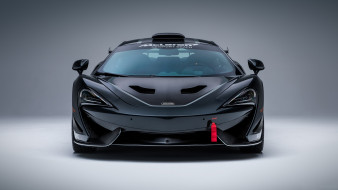 No10, X, MSO, GT4, 570S, McLaren, 2018, Accents, Black, Grey, Ueno
