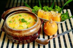 тыквенный, тыква, суп