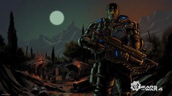 Gears of War 4, action, шутер