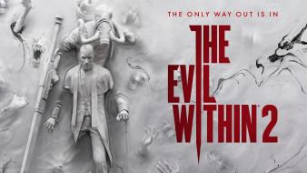 видео игры, the evil within 2, the, evil, within, 2, шутер, action, horror