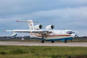 самолёт, аэродром, БЕ- 200ЧС, амфибия