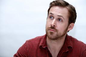 Ryan Gosling, актер, канадец, рубашка, щетина