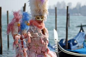 маски, карнавал, венеция