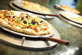 маслины, пицца, начинка