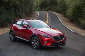 Review, Subcompact, Crossover, 2018, red, Mazda, CX-3