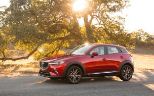 red, Subcompact, Review, CX-3, Mazda, Crossover, 2018