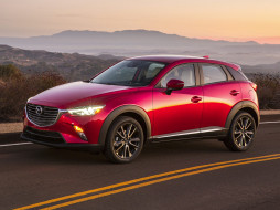 Crossover, CX-3, Review, 2018, red, Mazda, Subcompact